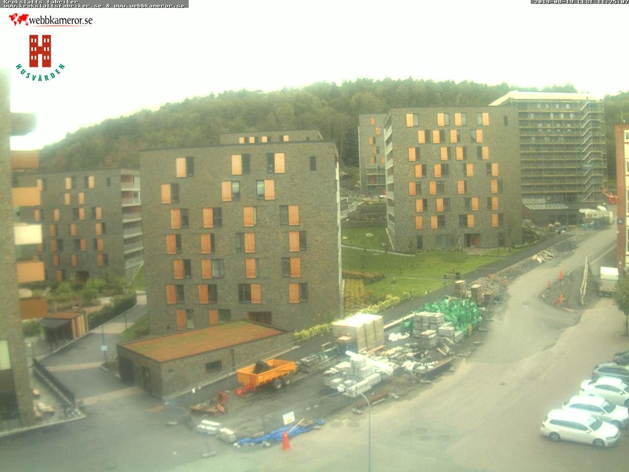 Webbkamera vid Krokslätts fabriker
