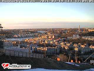 Webbkamera - Hammarbybacken