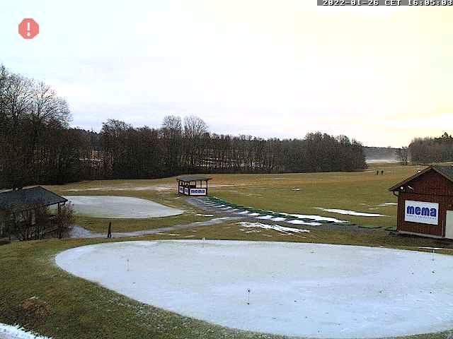 Webbkamera/Golfkamera hos Husby Golfklubb